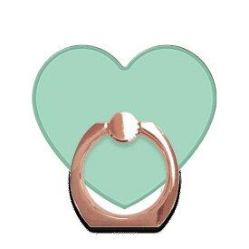 Ciara シアラ スマホチャーム かわいい おしゃれ 人気 女子 ブランド スマートフォン タブレット バッグ ストラップ スマホストラップ リング ホルダー バンカー EMERALD GREEN ハートRG