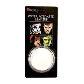 大容量1oz ウォーターメイクアップ ホワイト Water Activated Makeup Color, White, (1oz/28.3g) WAI | 白色,水性,ドーラン,高発色,フェイスペイント,コスプレ,ハロウィン,パーティー,仮装,特殊メイク