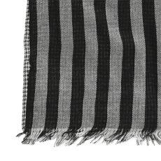 GlenPrinceグレンプリンスストライプモダールコットンストール180×70cm2色ハウンドトゥースメンズレディースユニセックスプレゼントギフト