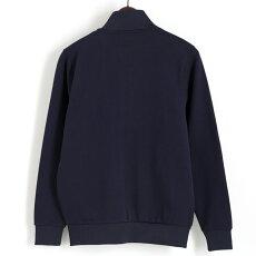 Gabicciガビッチビンテージフルジップトラックジャケットネイビーレトロメンズモッズファッションギフト