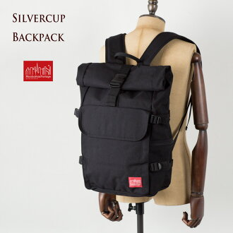 [Manhattan Portage, Silver Cup backpack MP1236 Manhattan Portage SILVERCUP BACKPACK roll top backpack men women
