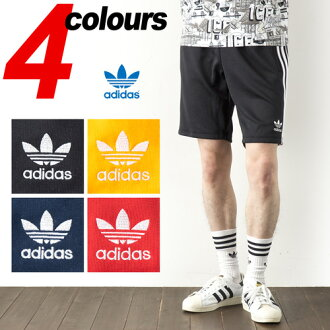 [아디다스 オリジナルス] 슈퍼스타 반바지 adidas Originals SST SHORT 저지 트랙 팬츠