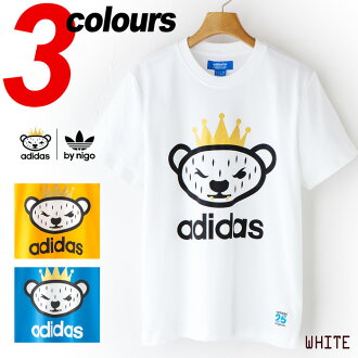 [阿迪达斯原始物by NIGO]NIGO bearogo T恤adidas originals NIGO BEAR LOGO Tee Shirt JKS56