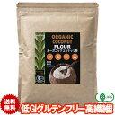 ココナッツフラワー 有機JASオーガニック ココナッツ粉 280g 1袋 低GI 糖質は小麦粉の約5分の1