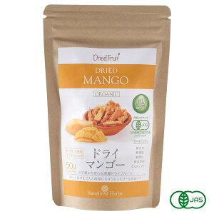 有機 ドライマンゴー50g 1袋 砂糖不使用 タイ産 JASオーガニック マンゴー  マハチャノック種 無添加 無漂白 無保存剤 グルテンフリー メール便