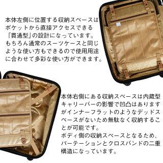 スーツケースキャリーケースキャリーバッグ中型Mサイズ【1年保証付き】【送料無料】かわいいおしゃれmsml拡張TSAロック軽量超軽量軽量丈夫8輪キャスタービジネス旅行用品su−tuke−suLCC140524最大大型