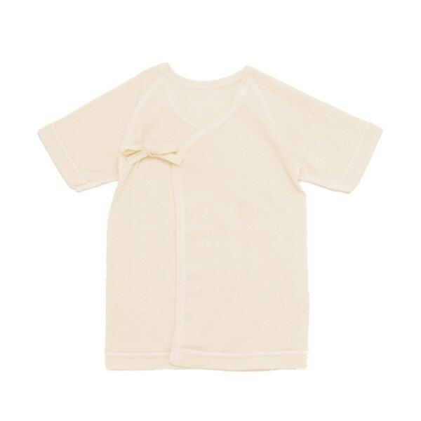 cofucu オーガニックコットン 短肌着 |コフク 日本製 ベビー服 敏感肌 出産祝い 内祝い 自然素材 出産 ギフト プレゼント オーガニック コットン エシカル ファクトリーブランド