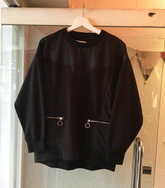 """【40%OFF】 5preview ファイブプレビュー  """" BRUNO SWEATER """" フリース ブラック 【BLACK】【正規品】【EA】【メール便不可】(18AW)"""