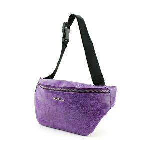 MURUA (ムルーア) ウエストバッグ クロコ MR-B754 ムルーア MURUA レディース バッグ かばん ブランド