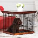 【送料無料】Simply Plus おしゃれ 木製 犬ケージ用 蓋 DWW-S
