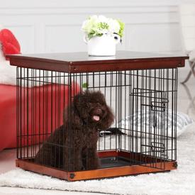 【送料無料】Simply Plus おしゃれ 木製 犬ケージ用 蓋 DWW-M