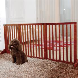 【送料無料】Simply Plusドア付き おしゃれ木製ペット/犬ゲート FWm02 Mペット用品 ペットグッズ 犬用品 ドア付きゲート ペット用ゲート ペットゲート 犬用ゲート ドッグゲート 木製ゲート 無垢材 幅調節