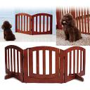 【送料無料】Simply Plus 高級感のある木製ペット/犬ゲート FWW-3Pペット用品 ペットグッズ 犬用品 ドア付きゲート ペ…