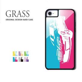 ガラスケース iPhone iPhone8 ケース iPhone XS ケース iPhone XR ケース TPUケース スマホケース ガラス 強化ガラス 背面ガラス 耐衝撃 おしゃれ 車 バイカラー 衝撃吸収 携帯ケース Galaxy S9 S8 iPhone8plus 9H カバー 防水ケース付