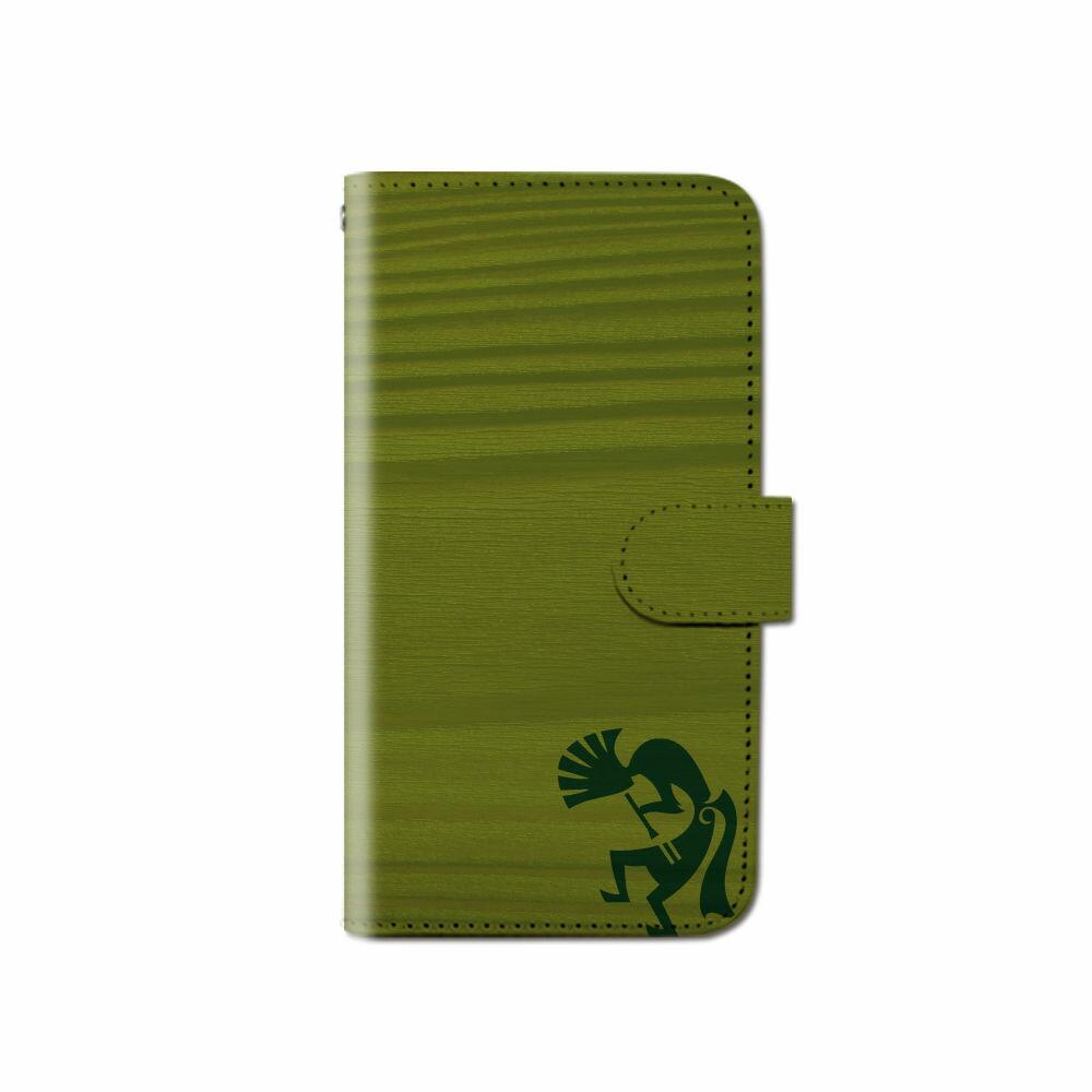 スマホケース 全機種対応 手帳型 ココペリ ハワイアン 夏 iPhone XS XR Xperia XZ1 XZ3 SOV36 iPhone8 Galaxy S9 S8 android one S5 X5 AQUOS ARROWS 手帳型ケース ベルトなし