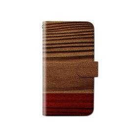 スマホケース 手帳型 全機種対応 ウッド 木目調 iPhone XS XR Xperia XZ3 Ace iPhone8 Galaxy S10 S9 android one S5 S3 X5 AQUOS ARROWS Google pixel 3a らくらくスマートフォン BASIO3 手帳型ケース ベルトなし メール便 送料無料