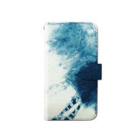 スマホケース 手帳型 全機種対応 絞り染め iPhone XS XR Xperia XZ3 Ace iPhone8 Galaxy S10 S9 android one S5 S3 X5 AQUOS ARROWS Google pixel 3a らくらくスマートフォン BASIO3 手帳型ケース ベルトなし メール便 送料無料