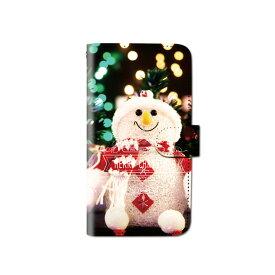 スマホケース 手帳型 全機種対応 クリスマス ツリー サンタ iPhone XS XR iPhone11 xperia5ケース iPhone8 Galaxy S10 android one S5 S3 huawei p30 lite oppo Google pixel 3a iphone7 BASIO3 手帳型ケース ベルトなし メール便 送料無料