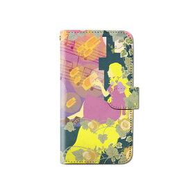 スマホケース 手帳型 全機種対応 [おとぎ話 童話] iPhone XS XR Xperia XZ3 Ace iPhone8 Galaxy S10 S9 android one S5 S3 X5 AQUOS ARROWS Google picxel 3a らくらくスマートフォン BASIO3 手帳型ケース ベルトなし メール便 送料無料
