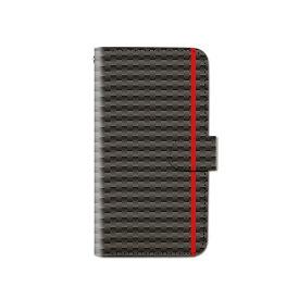 スマホケース 手帳型 全機種対応 カーボン ライン iPhone XS XR Xperia XZ3 Ace iPhone8 Galaxy S10 S9 android one S5 S3 X5 AQUOS ARROWS Google pixel 3a らくらくスマートフォン BASIO3 手帳型ケース ベルトなし メール便 送料無料