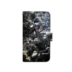 スマホケース 手帳型 全機種対応 石 ストーン iPhone XS XR Xperia XZ3 Ace iPhone8 Galaxy S10 S9 android one S5 S3 X5 AQUOS ARROWS Google pixel 3a らくらくスマートフォン BASIO3 手帳型ケース ベルトなし 春 カバー メール便 送料無料