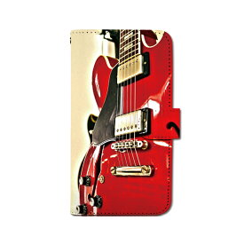 スマホケース 手帳型 全機種対応 [ギター] iPhone XS XR Xperia XZ3 Ace iPhone8 Galaxy S10 S9 android one S5 S3 X5 AQUOS ARROWS Google picxel 3a らくらくスマートフォン BASIO 手帳型ケース ベルトなし メール便 送料無料