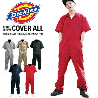 DICKIES short sleeve Dickies coveralls overalls Dickies all-in-one tethering 3399 SHORT SLEEVE COVERALL mens US size American big size large size L LL 2 l 3 l 4 l