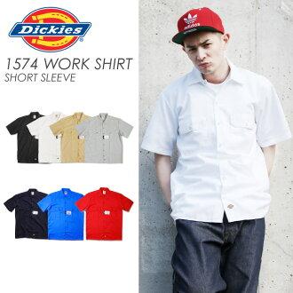 第 1574 DICKIES Dickies 5 短短袖工作衬衫 Dickies オープン_シャツ 春夏短长袖工作衬衫美国大小男士大尺寸 L LL 2 l 3 l 4 l l