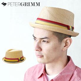 PETER GRIMM ハット 【Mason】【TAN】 ピーターグリム HAT リボン ラスタカラー レゲエ reggae 中折れハット 帽子 メンズ レディース 男女兼用 ONE SIZE (約57〜59cm)