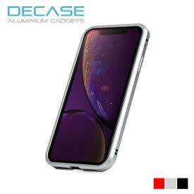 iPhone XS Max iPhone XR アルミニウムバンパー ケース DECASE for iPhone XS Max/XR【精密機器メーカー技術の結晶/国内最高峰の低電波干渉率/アイフォン】