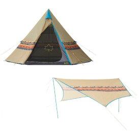【レンタル】ナバホ フェス初心者セット【テント・タープのみ】4〜5名用