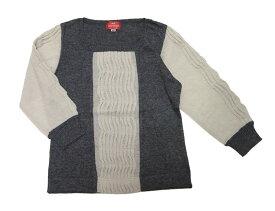 【お買い得!】シンプルに超キュート♪タックプリーツニット・七分袖セーター【送料無料】【smtb-k】【w4】[HFK]