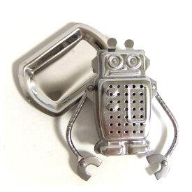 ★メール便選択可★ロボット・ティーインフューザー[ROBOTのティーストレーナー/茶こし/茶漉し]【楽ギフ_包装】※返品交換は承っておりません。 Stay Home ステイホーム うちで過ごそう