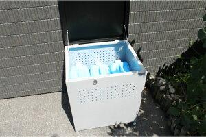 【送料無料】ダストボックス DB-60 組立式 屋外 屋内 ゴミ収集庫 ゴミ収集箱 屋外ごみ箱 ゴミ置き場 野外 ベランダ 家庭 家庭用 屋外用 コンパクト 小型 丈夫 ボックス 高さ調整 カラスよけ カ