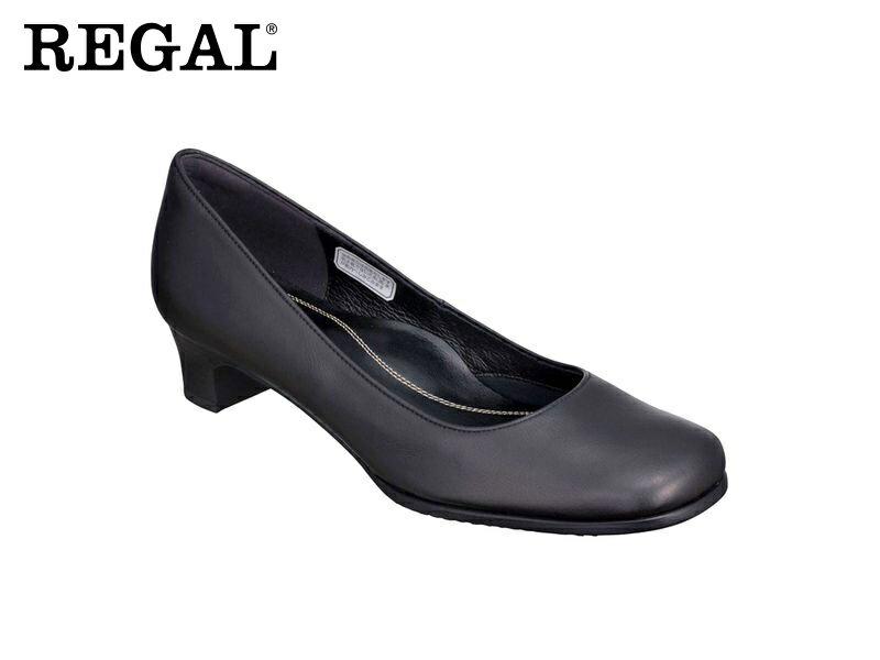 【6668AC】【Regal】【送料無料】【日本製】牛革 ☆フォーマルプレーンパンプス  婦人靴