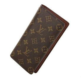 【新品】ルイ ヴィトン ポルトフォイユ ブラザ 二つ折り長財布 M66540 MB1178 2018年製 モノグラム ブラウン 財布 レディース財布 メンズ財布 ブランド財布 LV ビトン 20-1292