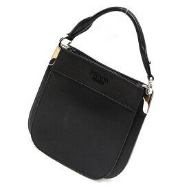 【中古】プラダ マギット 2WAYバッグ 1BC082 カーフ ブラック 黒 ネロ バッグ レディースバッグ ハンドバッグ ショルダーバッグ ブランドバッグ 鞄 20-1335