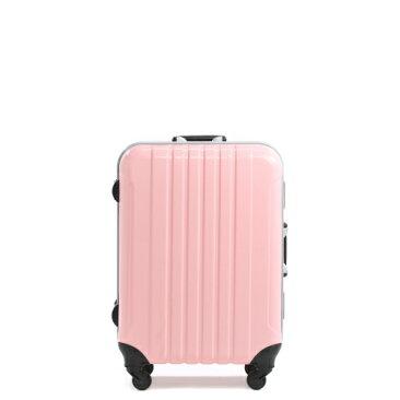【14日間レンタル】エミネント4輪・TSAロック搭載スーツケースリンク48.5Lピンク×チェリーピンク往復送料無料