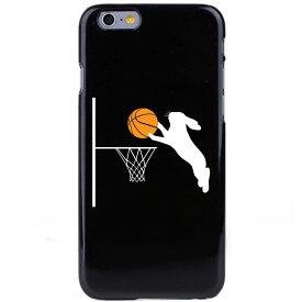 iPhone8/Xを始めiPhone全シーリーズ対応ケース カバー アイフォン スマホケース ポリカーボネイト ハードケース クリアケース うさぎバスケ【メール便可能】【メール便可能】