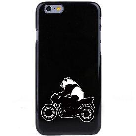 iPhone8/Xを始めiPhone全シーリーズ対応ケース カバー アイフォン スマホケース ポリカーボネイト ハードケース クリアケース パンダバイク【メール便可能】【メール便可能】