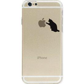 iPhone8/Xを始めiPhone全シーリーズ対応ケース カバー アイフォン スマホケース ポリカーボネイト ハードケース クリアケース クリア チョイ足し 猫いじり【メール便可能】【メール便可能】