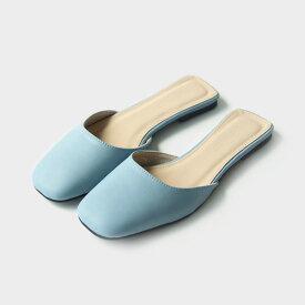 サンダル レディース フラット ぺたんこ 黒 ブラック ホワイト ローヒール 婦人靴 痛くない 歩きやすい パンプス スリッパ