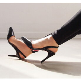 サンダル レディース バックストラップ 黒 ブラック ベージュ ミュール レッドソール ハイヒール 婦人靴 痛くない 歩きやすい 結婚式
