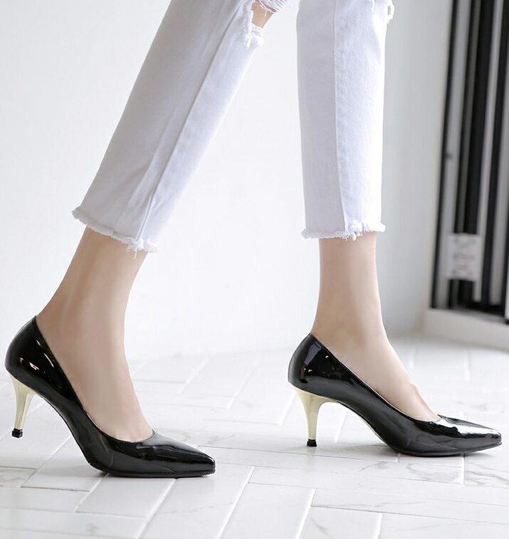 パンプス エナメル ポインテッドトゥ エナメル 黒 ブラック ベージュ レディースシューズ ハイヒール 婦人靴 痛くない ピンヒール