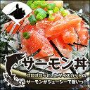 生食用 ごろごろダイスカット!味付きサーモン丼 お得用チューブパックタイプ〜6人前〜(鮭)(さけ)(サケ)(しゃけ)(シャケ)(銀鮭)(海鮮)(寿司)(ヅケ)