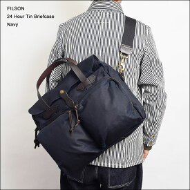 FILSONフィルソン【70140-NAVY】24-HOUR TIN BRIEFCASENavyブリーフケース