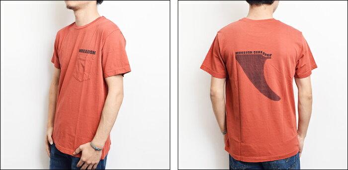 【メール便】MOLLUSK(モラスク)【MF14005】TRANSITIONTeeShirtsRomaTシャツ