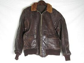 50年代製 USN G-1 フライトジャケット L位 古着 ヴィンテージ【メンズ】【LARGE】【中古】