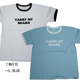 HURLEY ハーレー LADIES レディース CARRY MY BOARD RINGER TEE Tシャツ