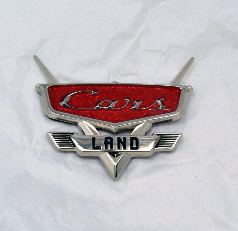 """Disney/PIXAR CARS LAND """"CARS LAND"""" DISNEY CALIFORNIA ADVENTURE ディズニー/ピクサー カーズランド「マグネット エンブレム」ディズニー・カリフォルニア・アドベンチャーカーズランド限定!!"""